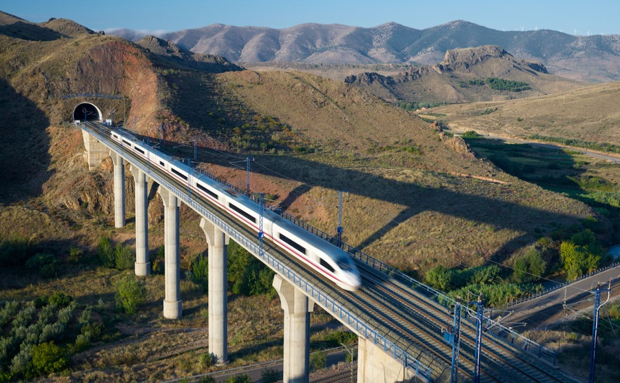 Taking the train in Spain is a painless and green way to travel.