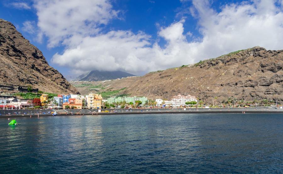 The typical volcanic landscape of Tazacorte. Martin Leber / Shutterstock.com