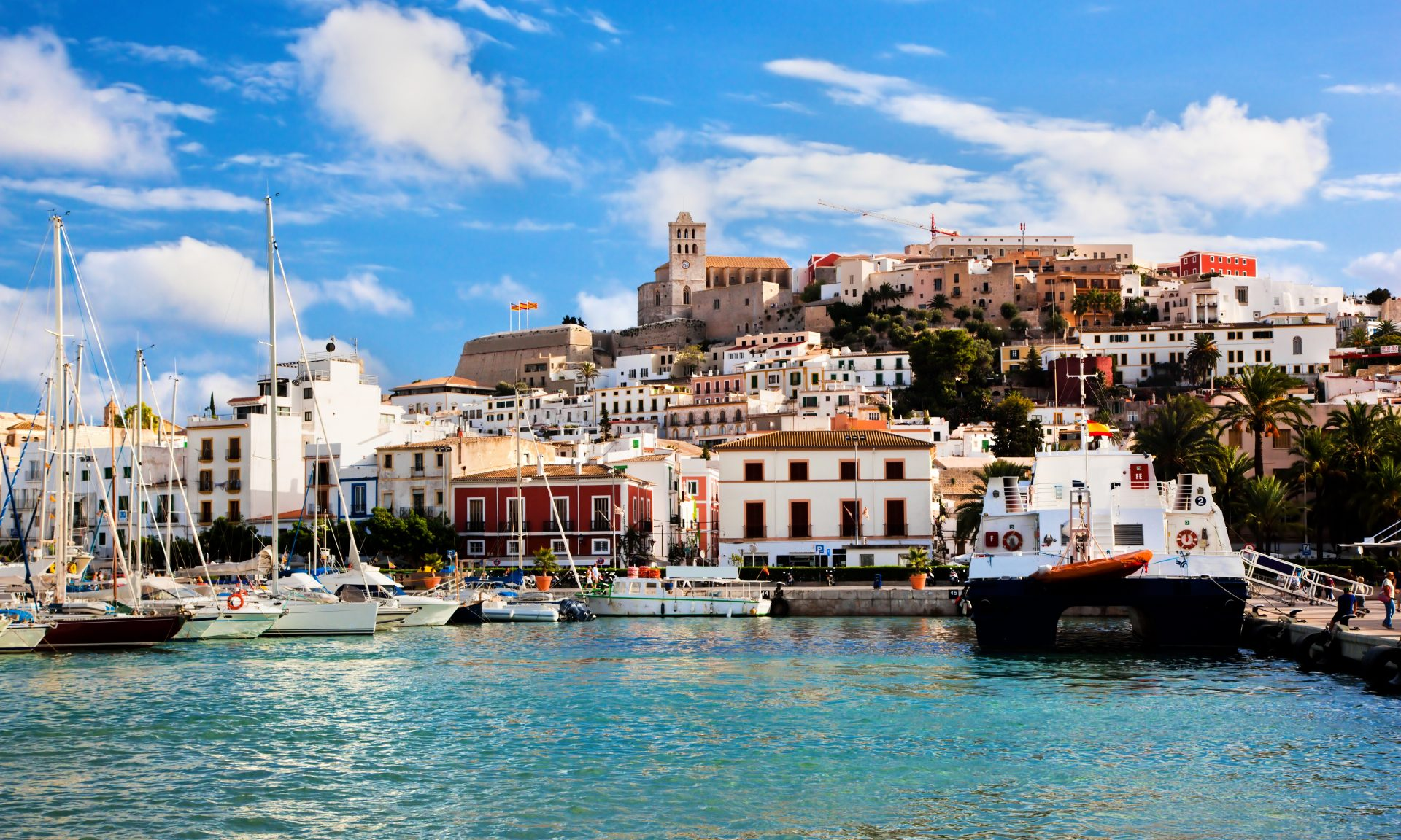 More than just the party centre of the Balearic Islands – the historic centre of Ibiza's capital has been classified by UNESCO.