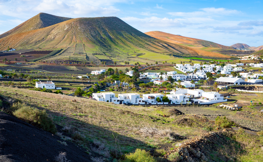 A property in Lanzarote's countryside
