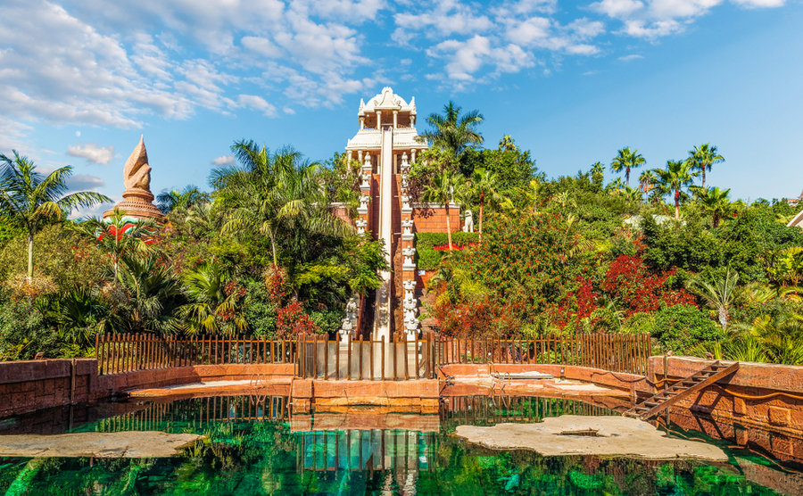 Could you live near a water park in Spain?