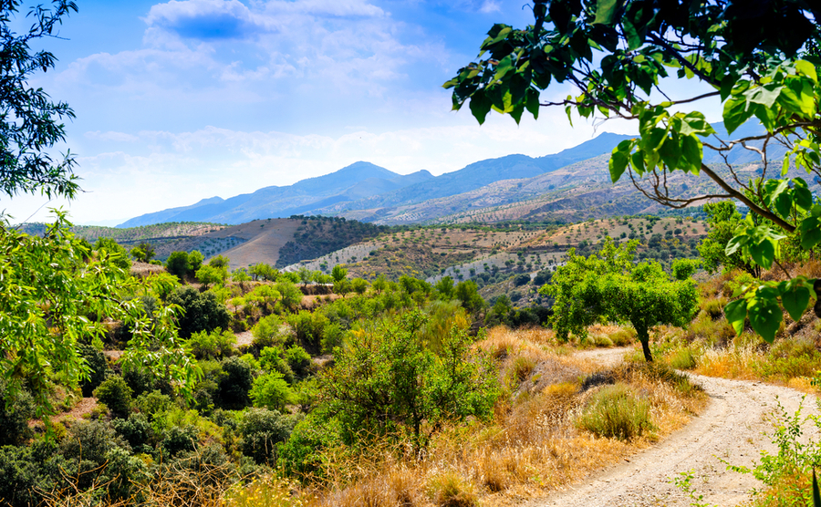 The Alpujarras, inland Andalusia