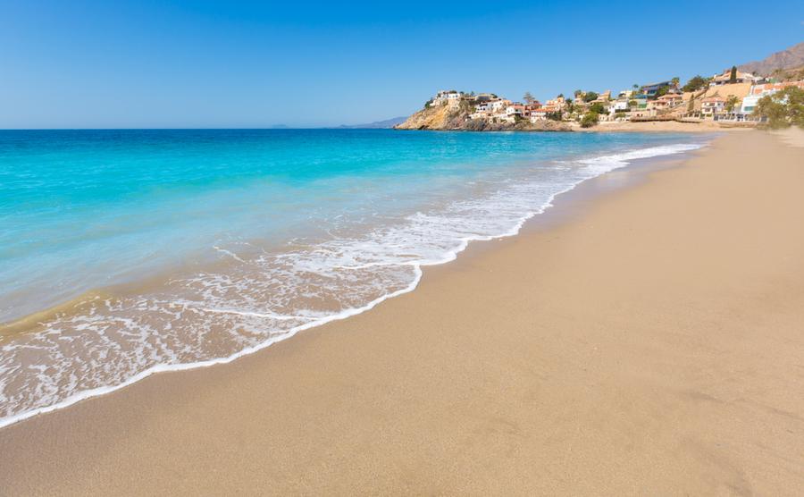 Bolnuevo beach in Mazarrón.
