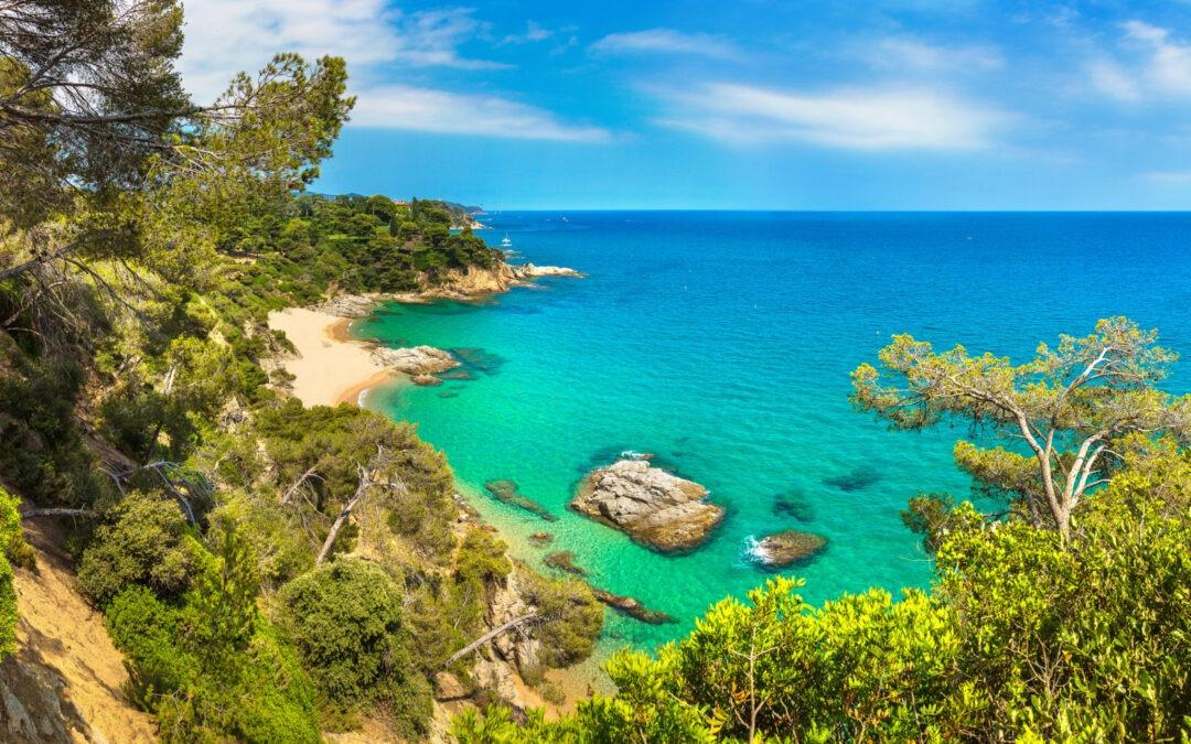 Join the celebrities on the Costa Brava