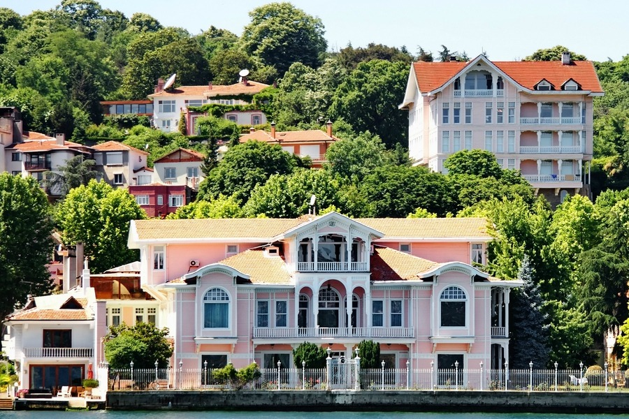 This is one of the most exclusive types of Turkish homes.