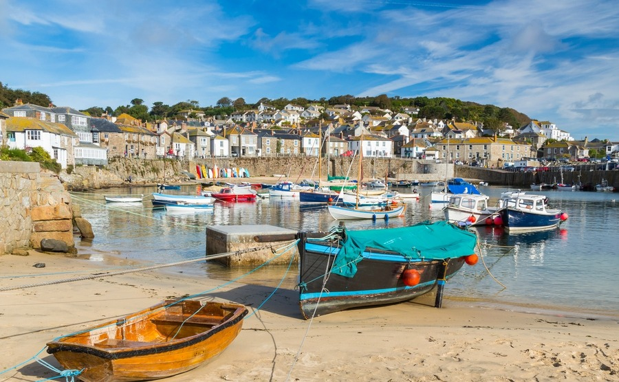 Mousehole is a popular place for anyone looking into buying a house in Cornwall for the seaside lifestyle.