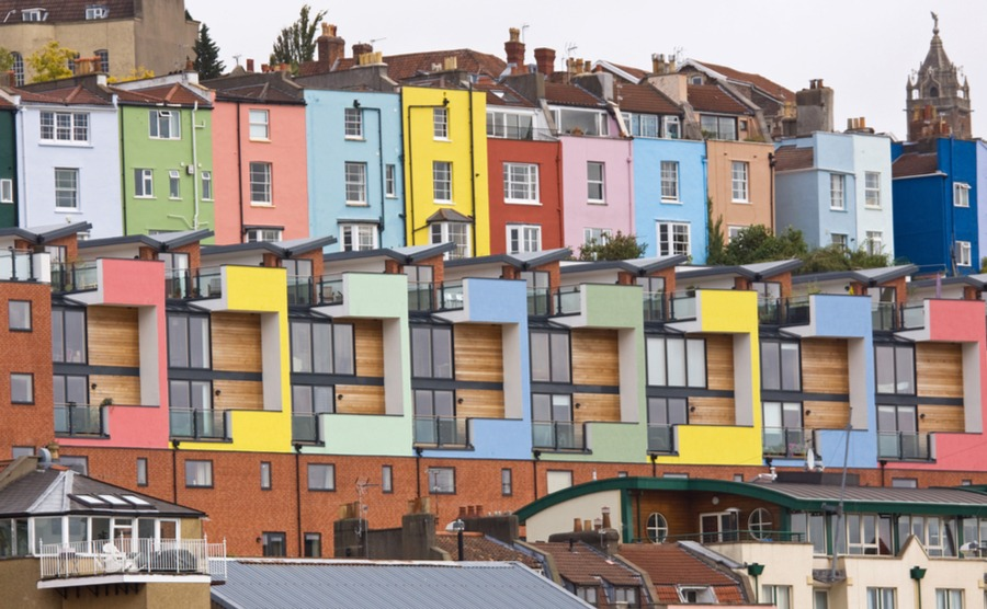 What's happening in the British property market?