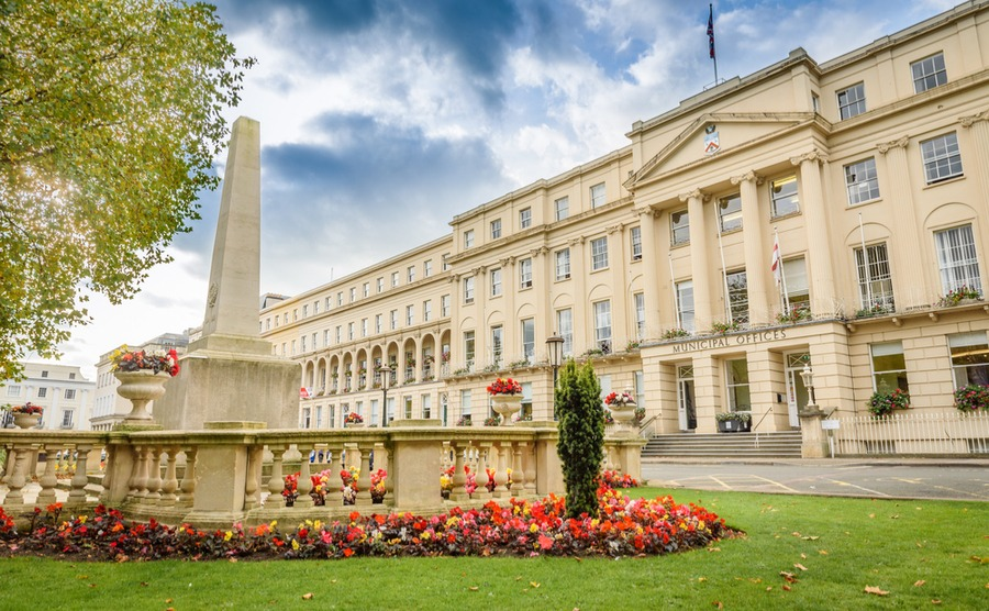 Cheltenham's elegant regency architecture makes it one of England's most beautiful towns, and one of the best places to buy a house in the Cotswolds.