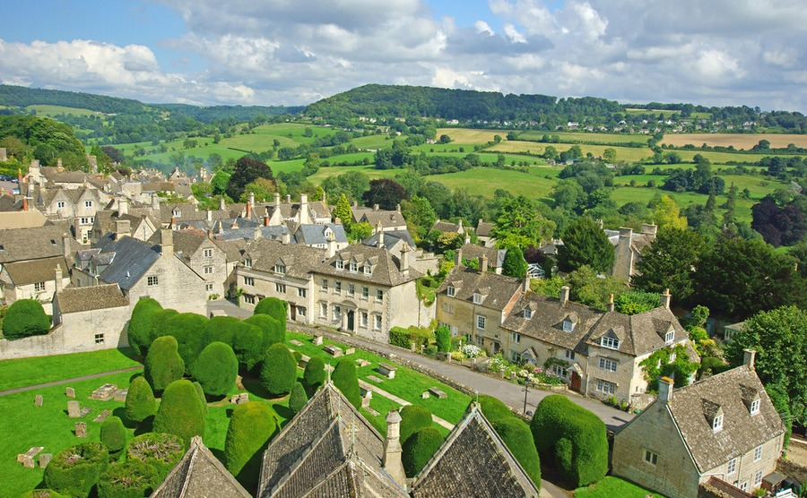 The picturesque countryside of the Cotswolds is one of the best areas in the UK to buy property if you want rural tranquillity and historic properties.