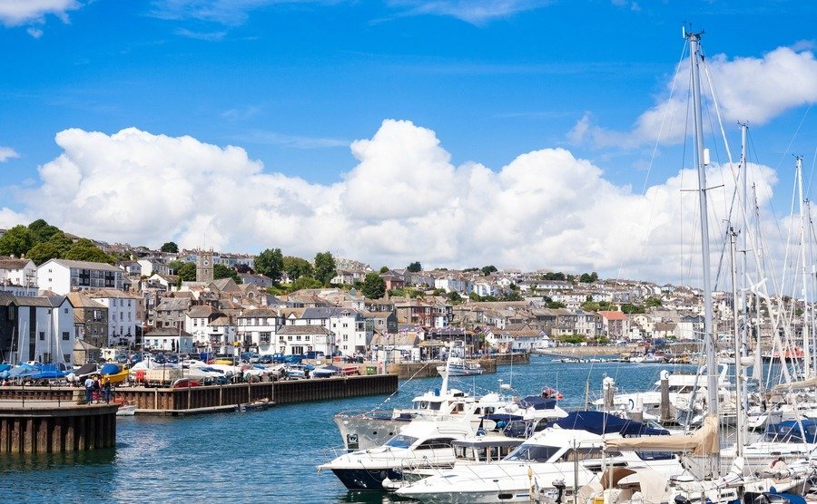 Falmouth is a good place to consider buying a house in Cornwall if you're looking for career opportunities.