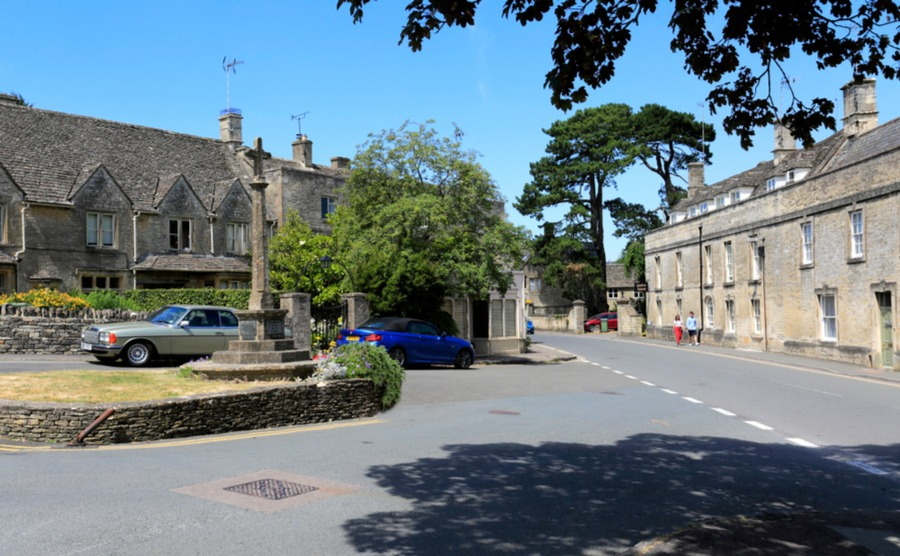 North Leach offers village living with easy access to Cheltenham. No wonder it's one of our best places to buy a house in the Cotswolds.