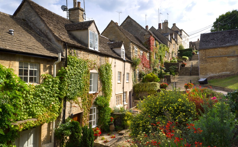 Chipping Steps in Tetbury – one of the best places to buy a house in the Cotswolds