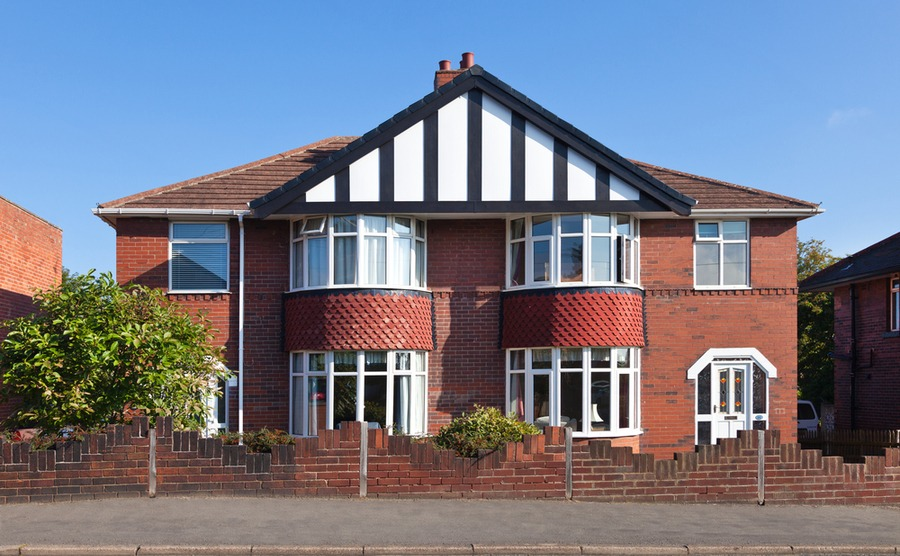 Thinking of buying property in the UK? Many British suburban homes are semi-detached.