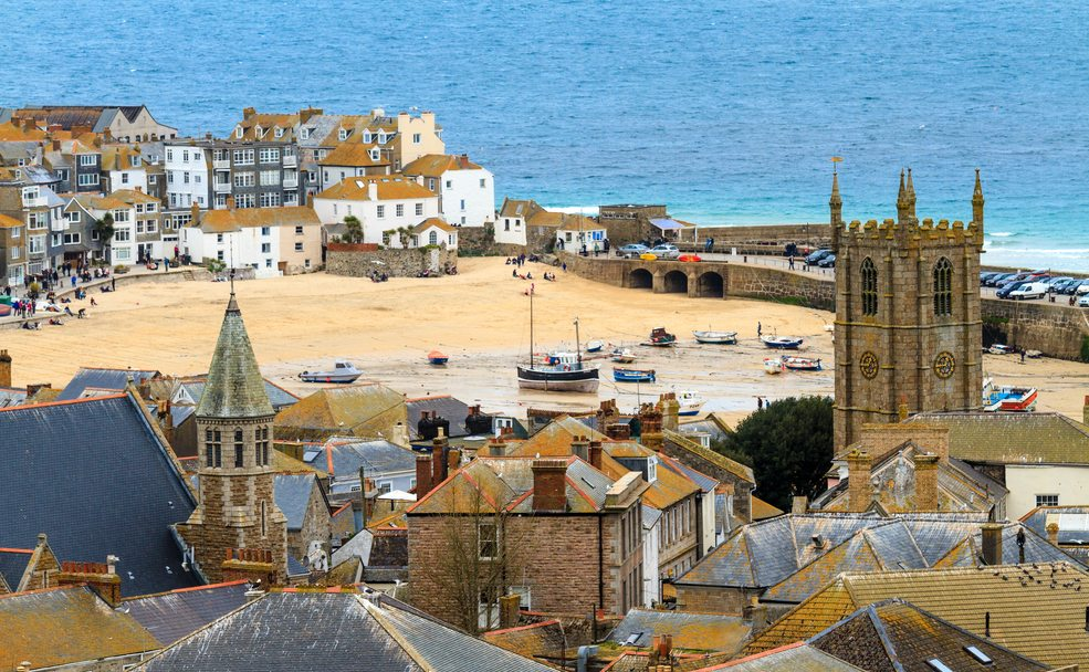 Artistic and fun, St Ives in Cornwall