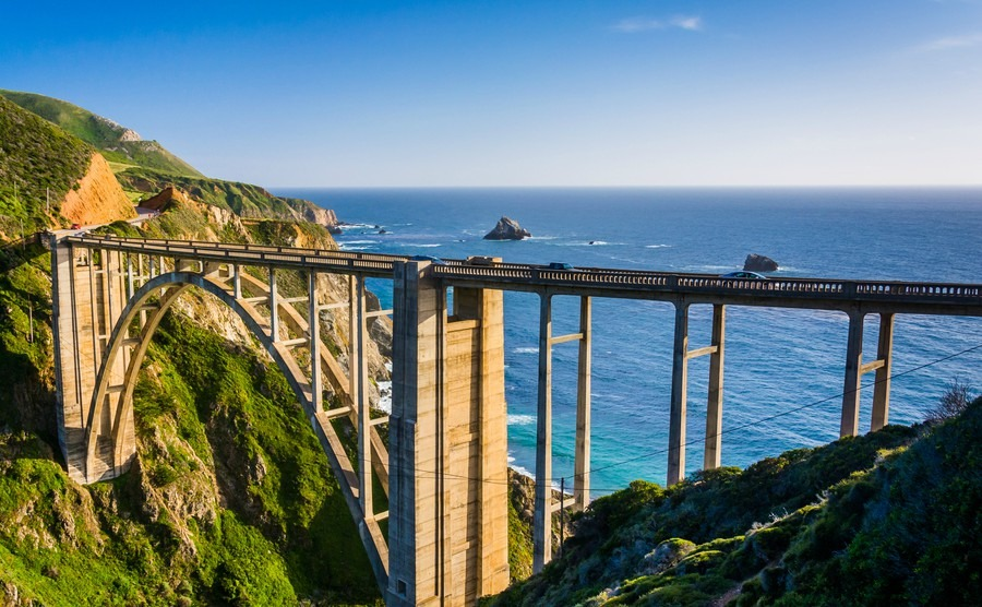 Bixby Creek Bridge, Big Sur California