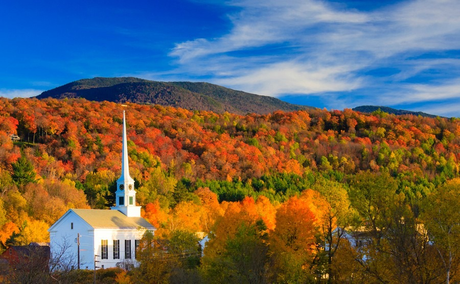A guide to New England