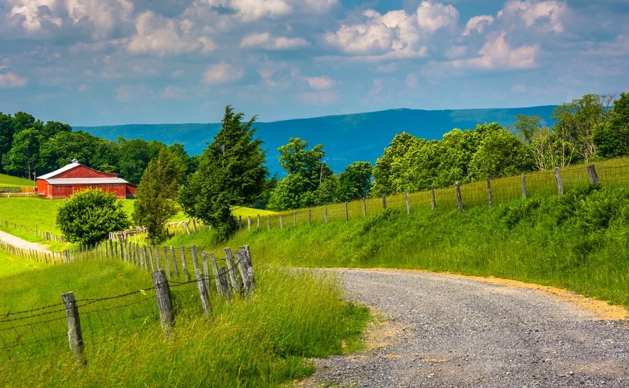 Rural Potomac Highlands, West Virginia