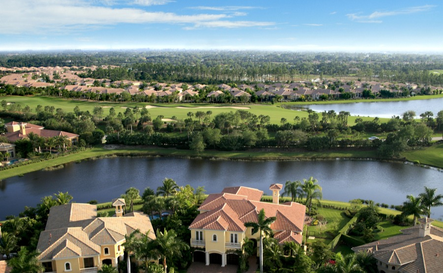 Florida's gated communities can be surprisingly affordable places for UK buyers to purchase property in the USA in 2019.