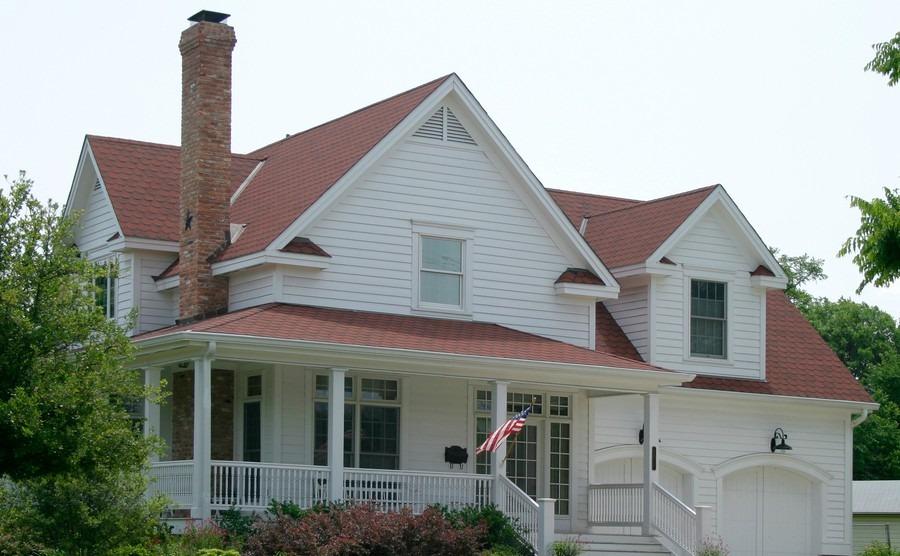 Modern classic suburban house design