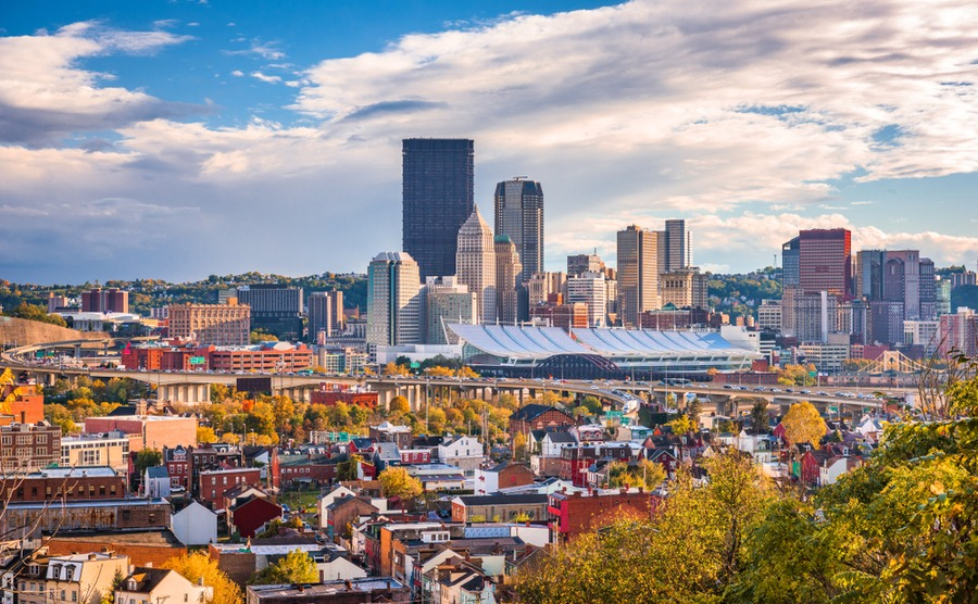 Areas with a high population in their 20s and early 30s, like Pittsburgh, can be a good choice for investment properties for long-term renters.