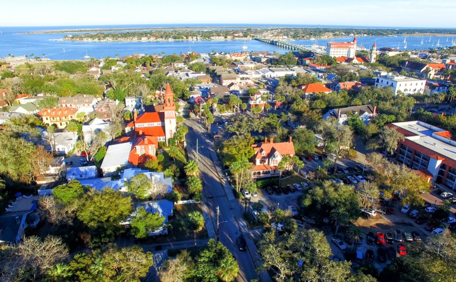 St Augustine is North America's oldest continually inhabited town, making it ideal for history fans who want to move to Florida.