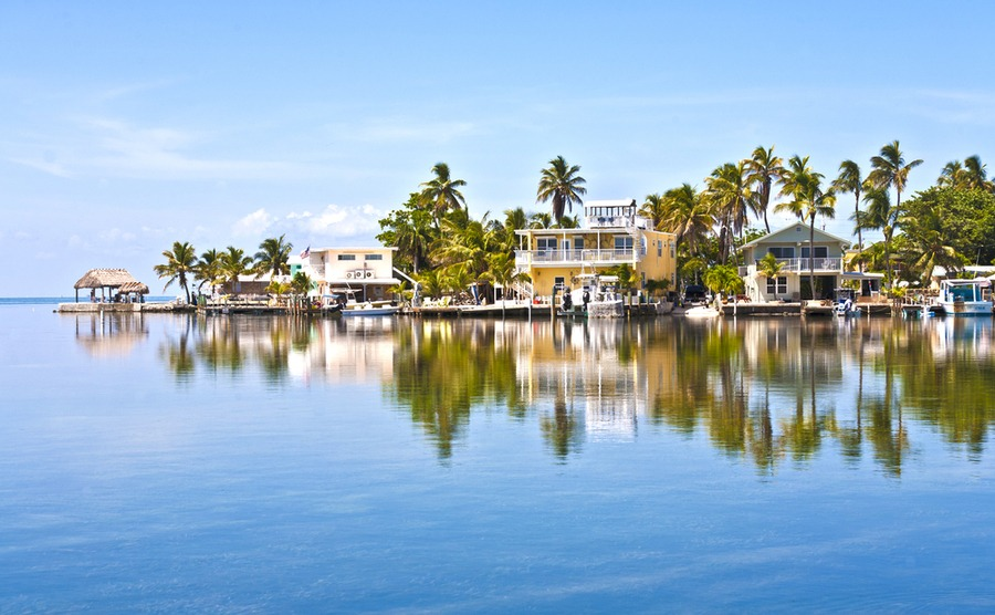Enjoy tropical island living in the Florida Keys.