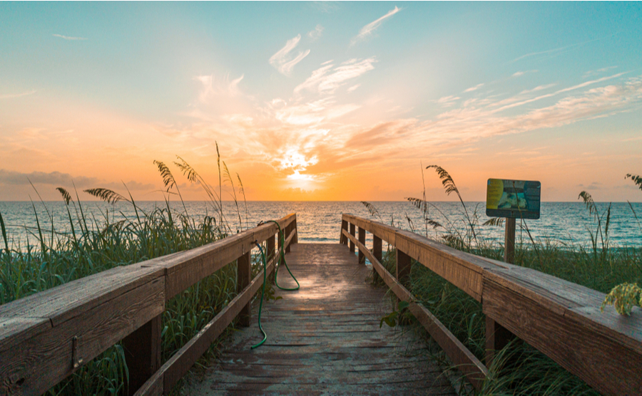 Highlights and hotspots of Florida's north-east coast