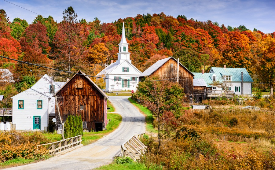 Where to buy a New England property