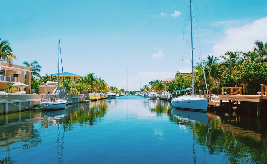 Key West is a boater's paradise.